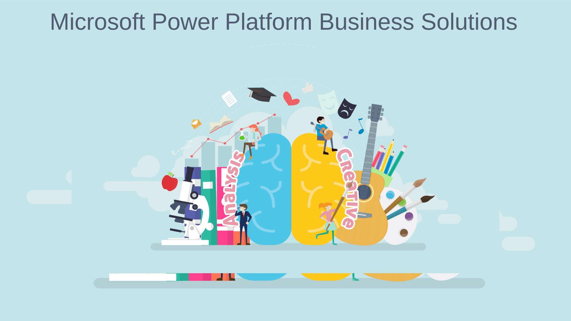 Microsoft power Platform business solutions